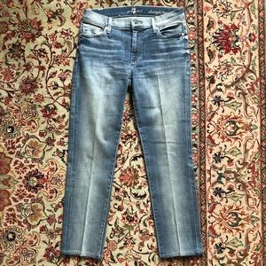 7 For All Mankind Straight Leg Jeans 27